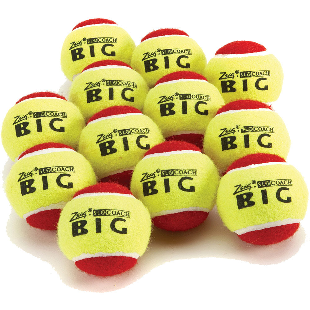 Zsig Big Red Mini Tennis Balls (12 PK) Image McSport Ireland