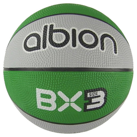 Albion BX Rubber Basketball  (10 Pack with Carry Bag) | Size 3