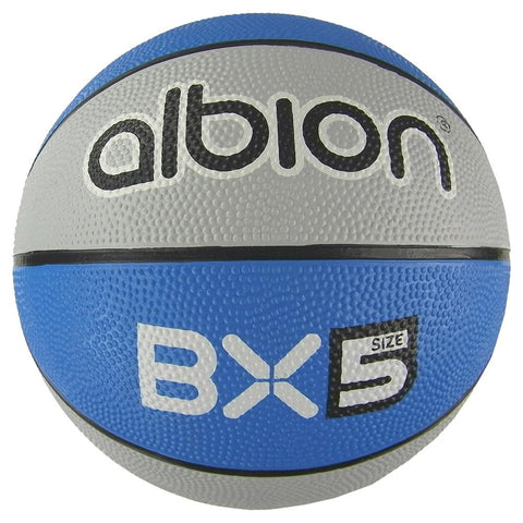 Albion BX Rubber Basketball (10 Pack with Carry Bag) | Size 5