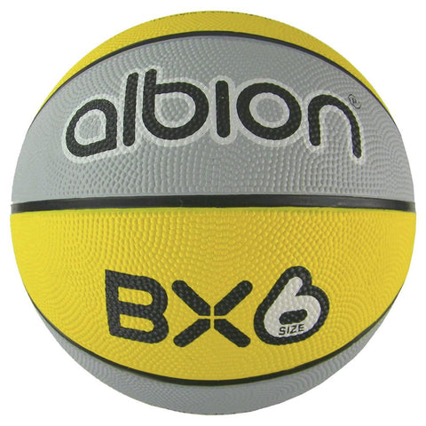 Albion BX Rubber Basketball  (10 Pack with Carry Bag) | Size 6