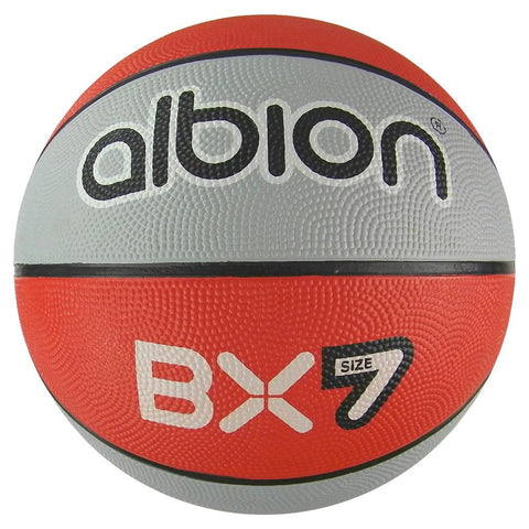 Albion BX Rubber Basketball (10 Pack with Carry Bag) | Size 7
