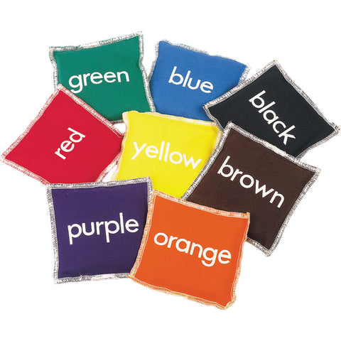 First-Play Colour Beanbags Set (8) Image McSport Ireland