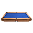 BCE 5ft Rolling Lay Flat Folding Pool with Table Tennis Top | Blue Image McSport Ireland
