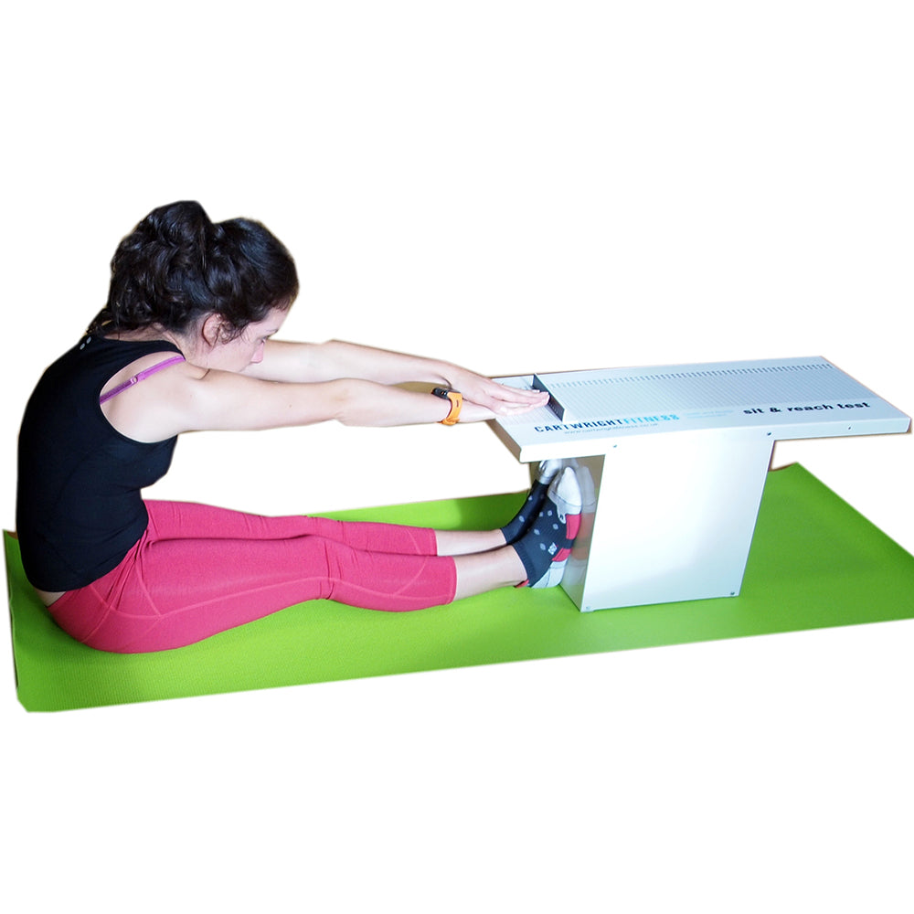 Cartwright Fitness Metal Sit and Reach Box Image McSport Ireland