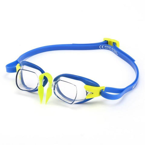 AquaSphere MP Chronos Goggle | Blue (Clear Lens) Image McSport Ireland