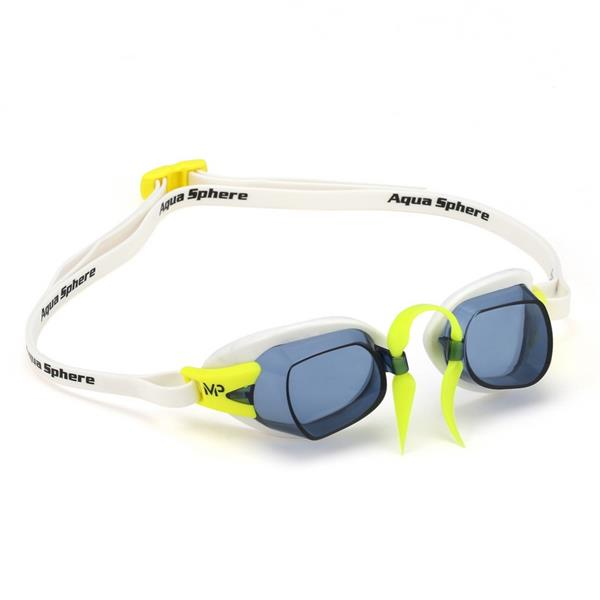 AquaSphere MP Chronos Goggle | White (Smoke Lens) Image McSport Ireland