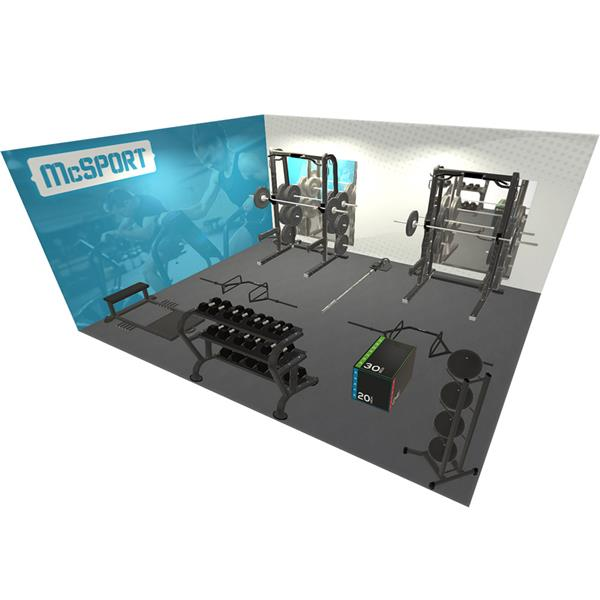 Essential Gym Bundle Image McSport Ireland