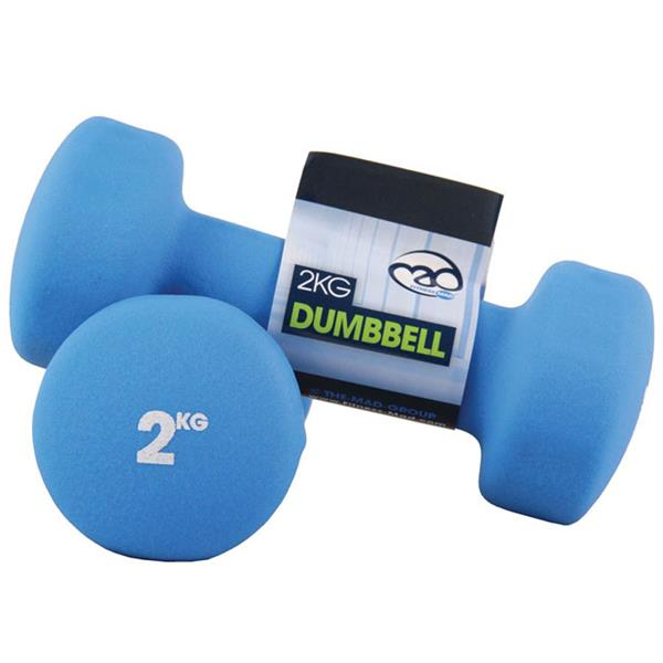 Fitness Mad Neoprene Dumbbells | 2Kg Image McSport Ireland