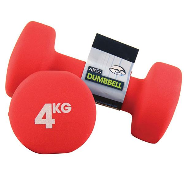 Fitness Mad Neoprene Dumbbells | 4Kg Image McSport Ireland