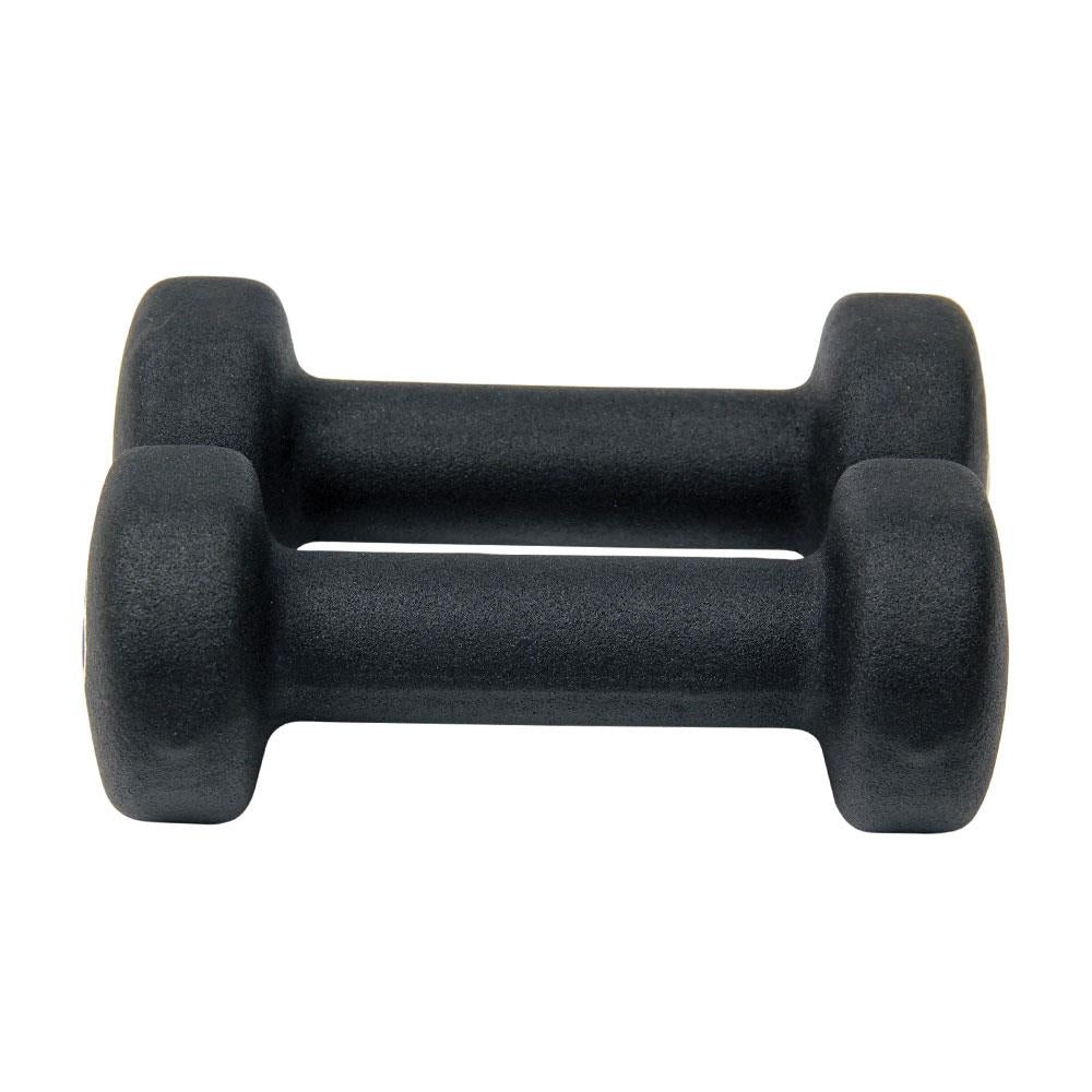Fitness Mad Black Neoprene Dumbbells | 1kg Image McSport Ireland
