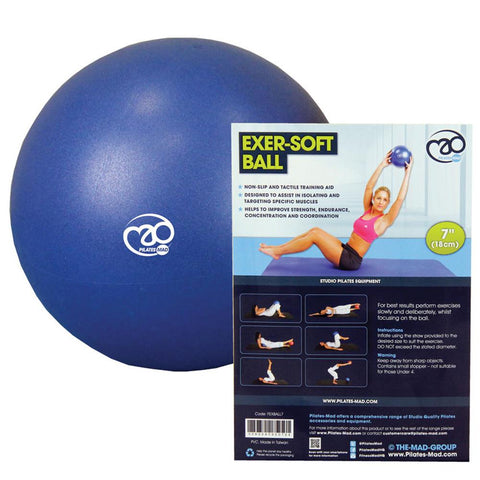 Fitness Mad Exer-Soft Ball | 7'' (18cm) Image McSport Ireland