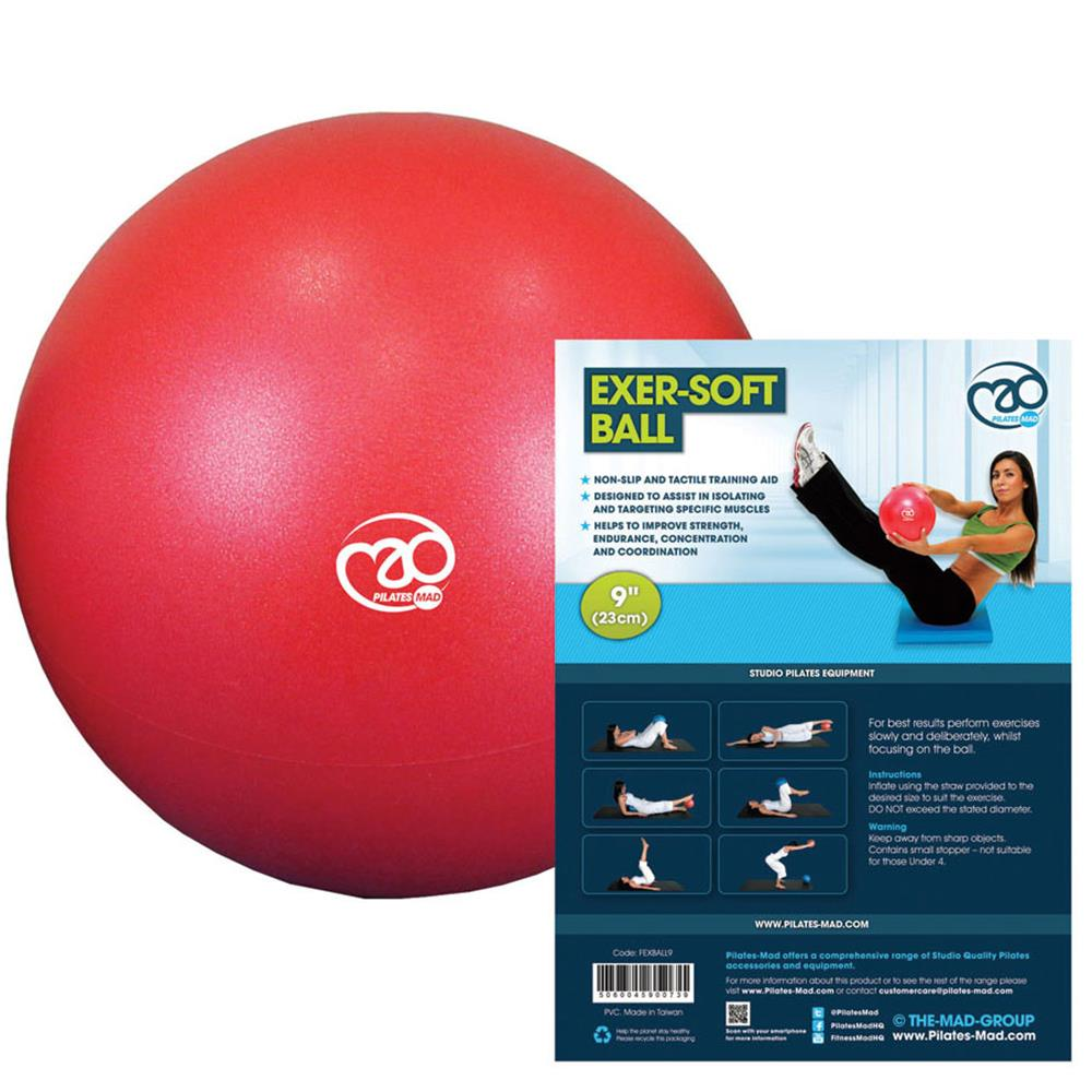 Fitness Mad Exer-Soft Ball | 9'' (23cm) Image McSport Ireland