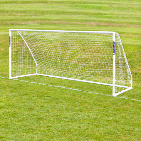 Football Soccer Match Goal | 16ft x 7ft | White Image McSport Ireland