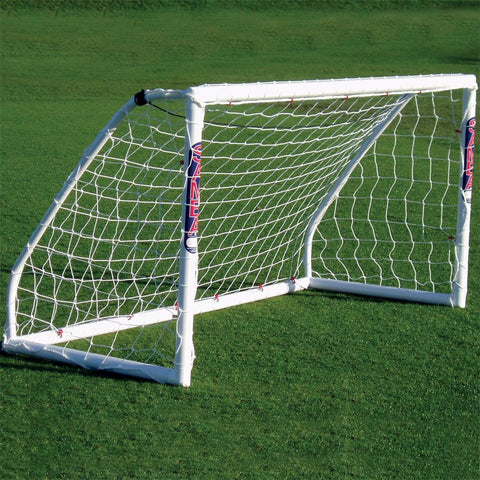 Match Goal Locking | 8ft x 4ft | White Image McSport Ireland