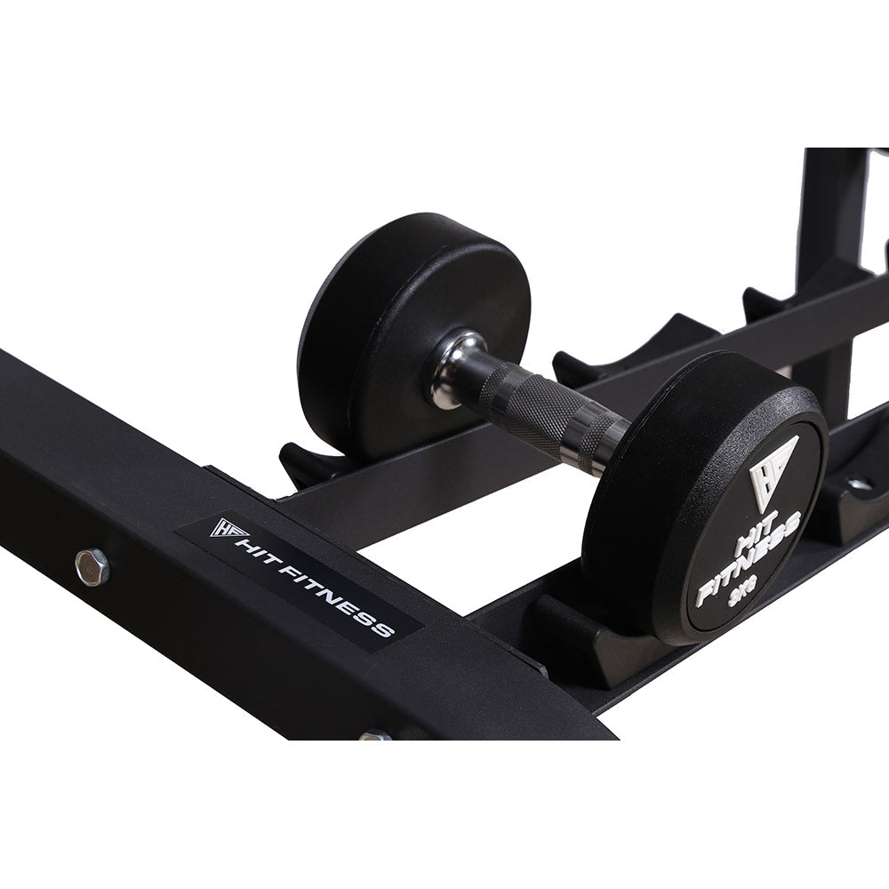 HIT FITNESS Two Layers Dumbbell Rack | 10 Pair Image McSport Ireland