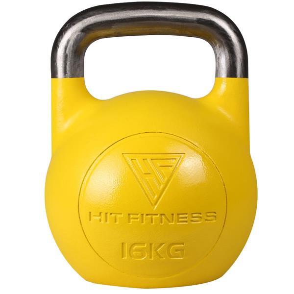 Hit Fitness Steel Competition Kettlebell | 16kg Image McSport Ireland