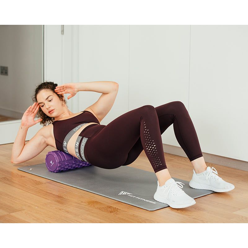 HIT FITNESS Foam Roller | Purple Image McSport Ireland