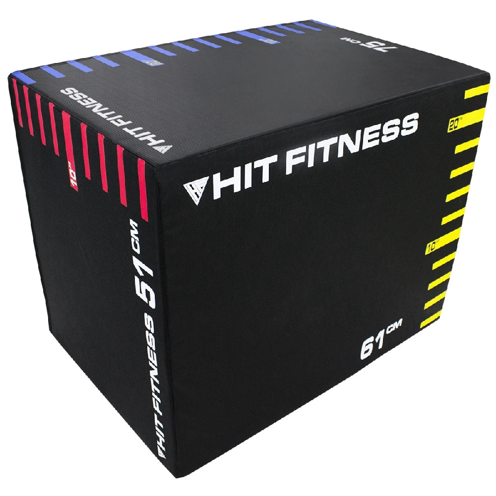 HIT FITNESS 3-in-1 Soft Plyometric Boxes Image McSport Ireland
