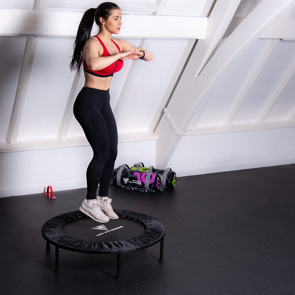 HIT FITNESS Commercial Trampoline / Rebounder Image McSport Ireland
