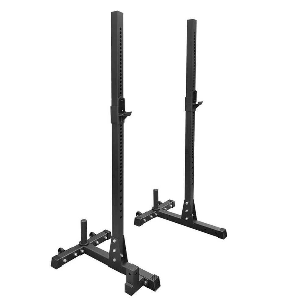 HIT FITNESS Squat Stands (Pair) Image McSport Ireland