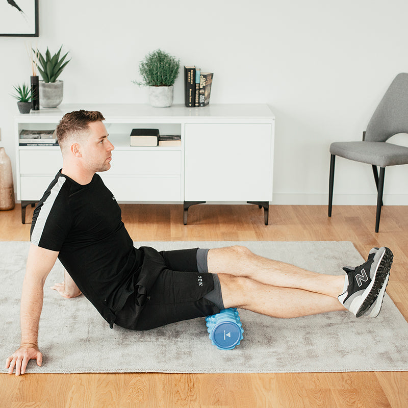 HIT FITNESS Foam Roller | Blue