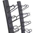 HIT FITNESS Rubber Studio Dumbbell Storage Rack Image McSport Ireland