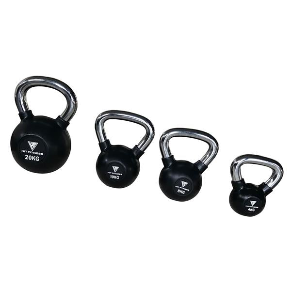 Kettlebell with Chrome Handle | 8KG Image McSport Ireland