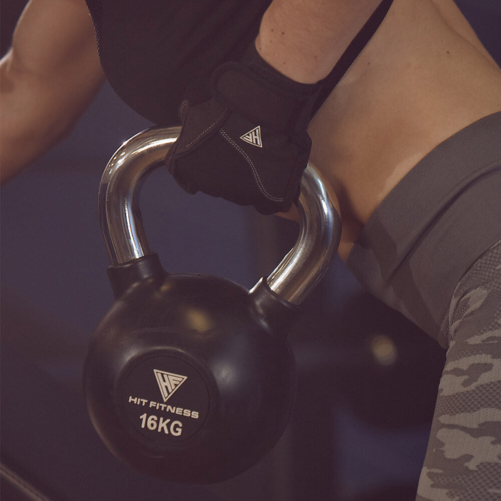 Kettlebell with Chrome Handle | 16KG Image McSport Ireland