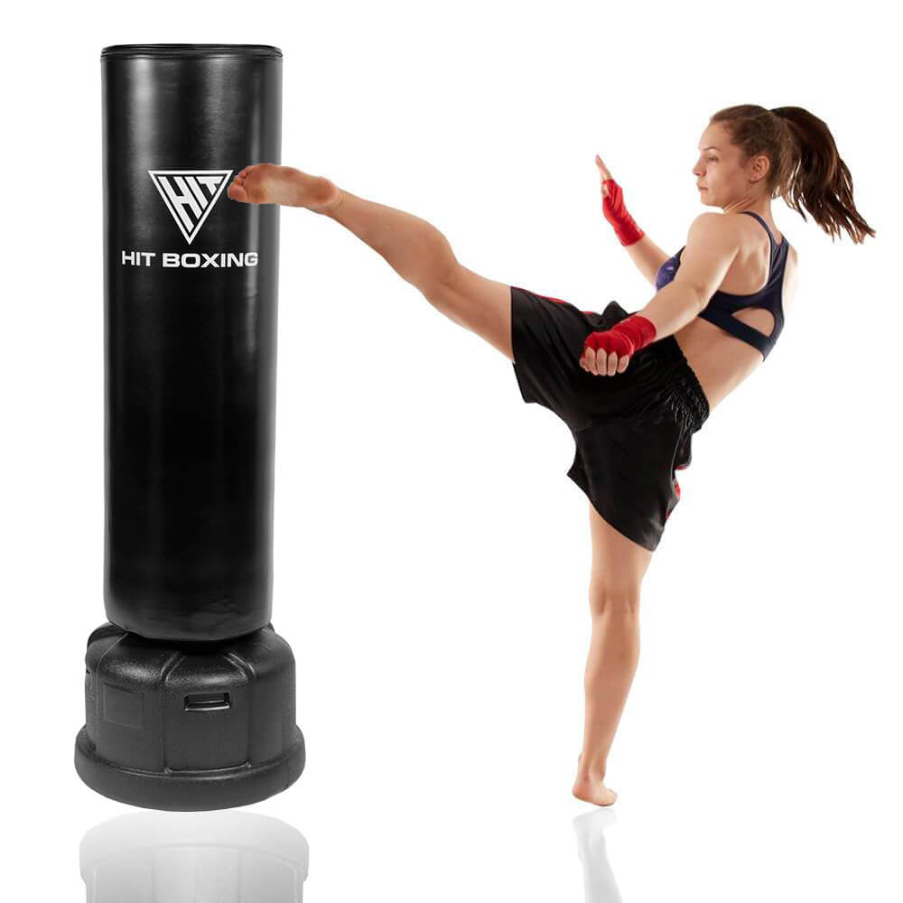 HIT FITNESS Pro Free Standing Punch Bag 5.9ft | 82kg Image McSport Ireland
