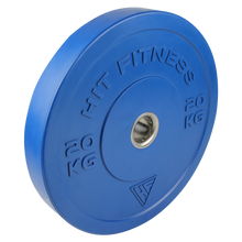 HIT FITNESS 100kg Coloured Olympic Rubber Bumper Plate Set | Commercial Image McSport Ireland