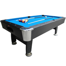 BCE 7ft Black Cat Deluxe Pool Table | Blue Image McSport Ireland
