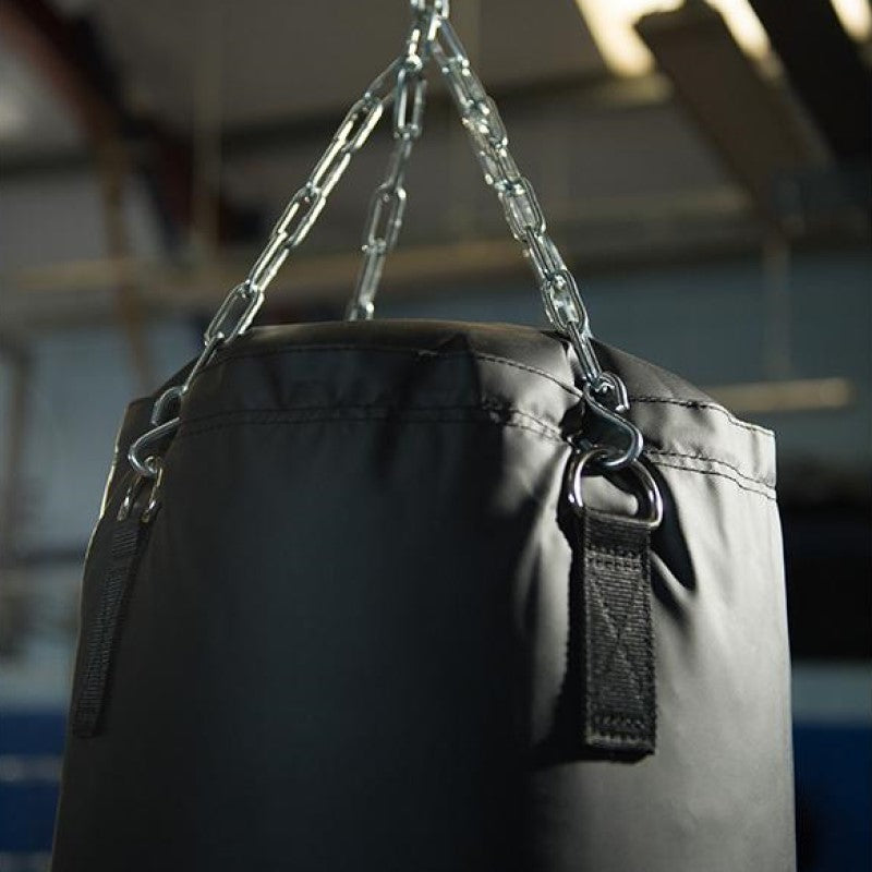 Hit Boxing Classic Punching Bag Black 5ft Image McSport Ireland