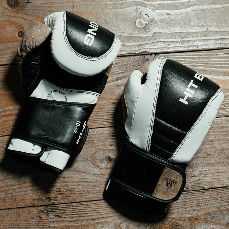 HIT BOXING Premium Leather Boxing Gloves | 10oz-16oz Image McSport Ireland