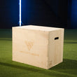 HIT FITNESS 3 in 1 Wooden Plyometric Box Image McSport Ireland