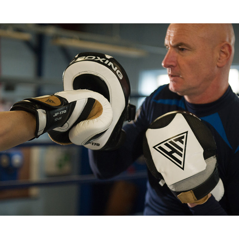 Hit Boxing Hook and Jab Pads Image McSport Ireland