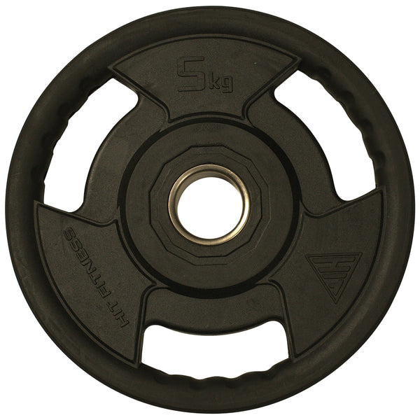 Hit Fitness Rubber Radial Olympic Weight Discs | 5kg Image McSport Ireland