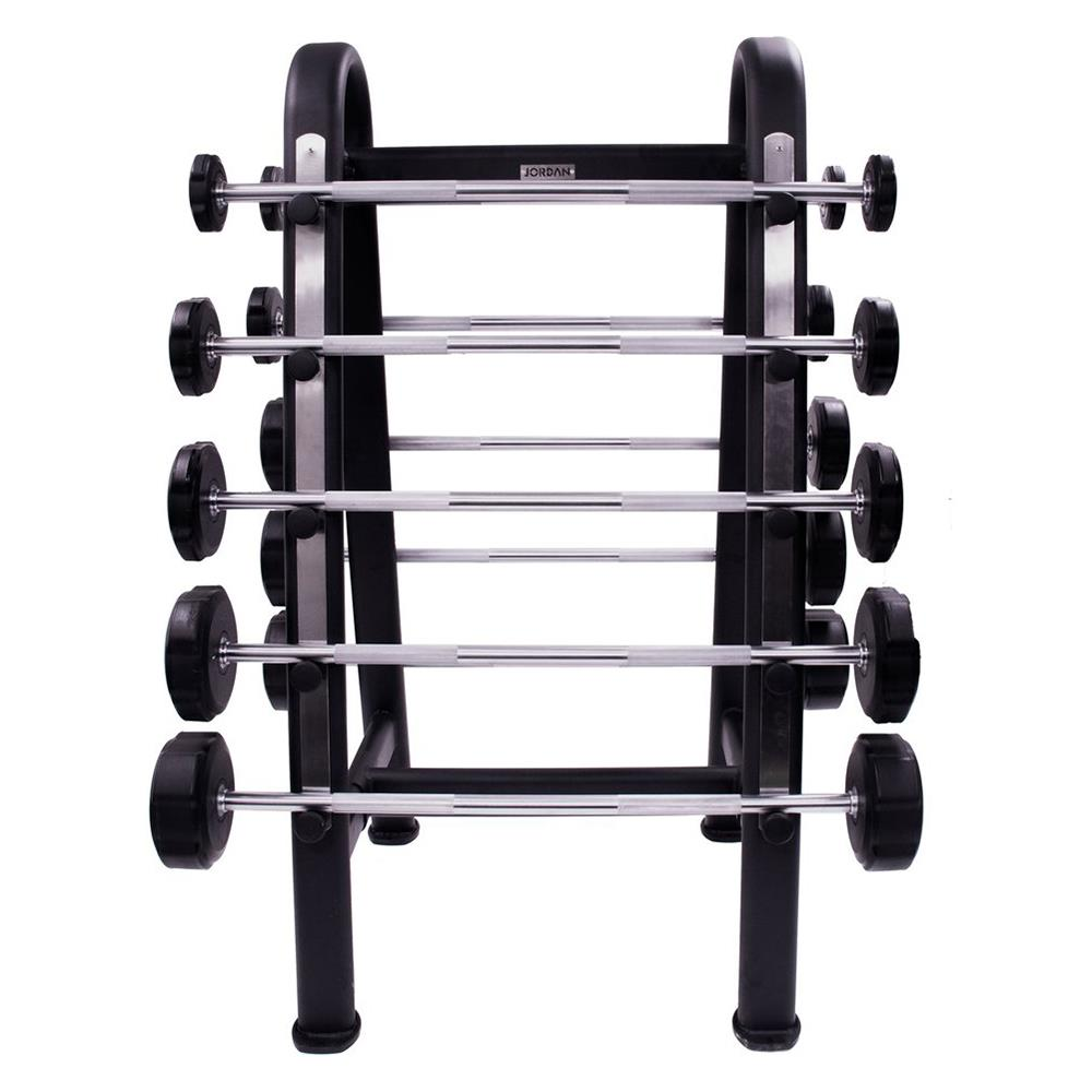 Barbell Rack Holds 10 Image McSport Ireland