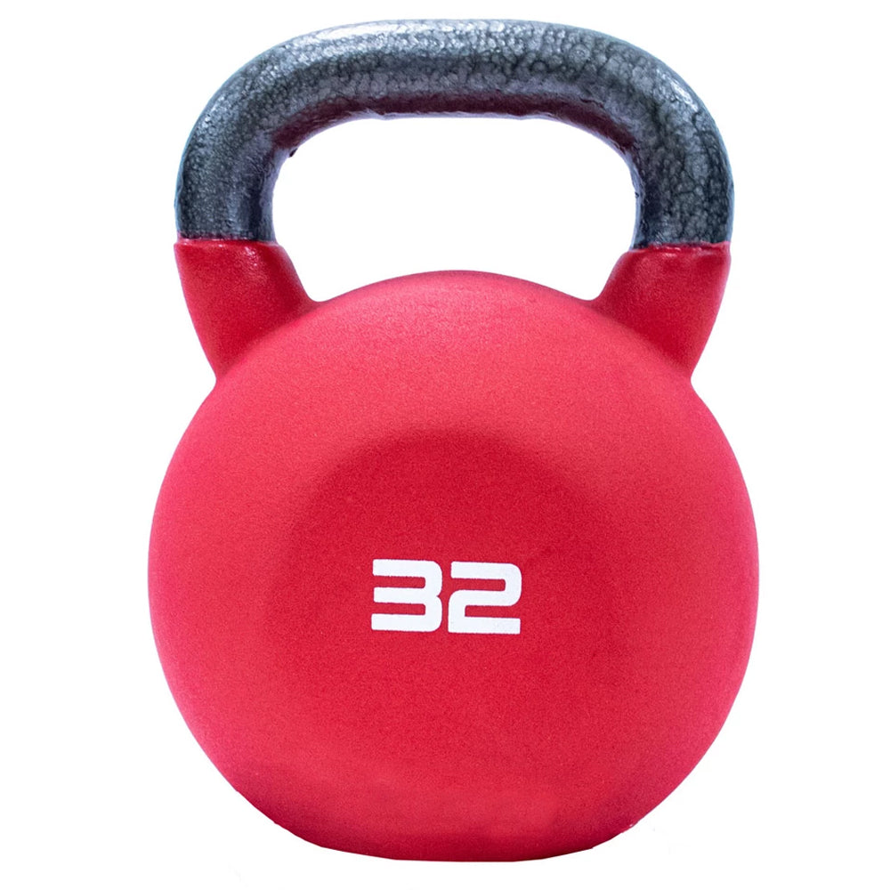 Jordan Neoprene Covered Kettlebell 32kg Red Image McSport Ireland