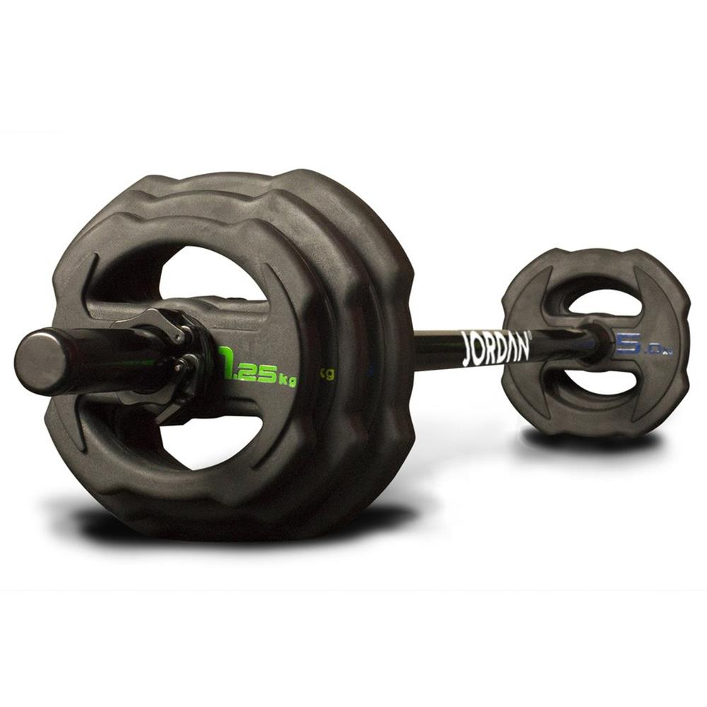 Ignite V2 Rubber Studio Barbell Set Image McSport Ireland