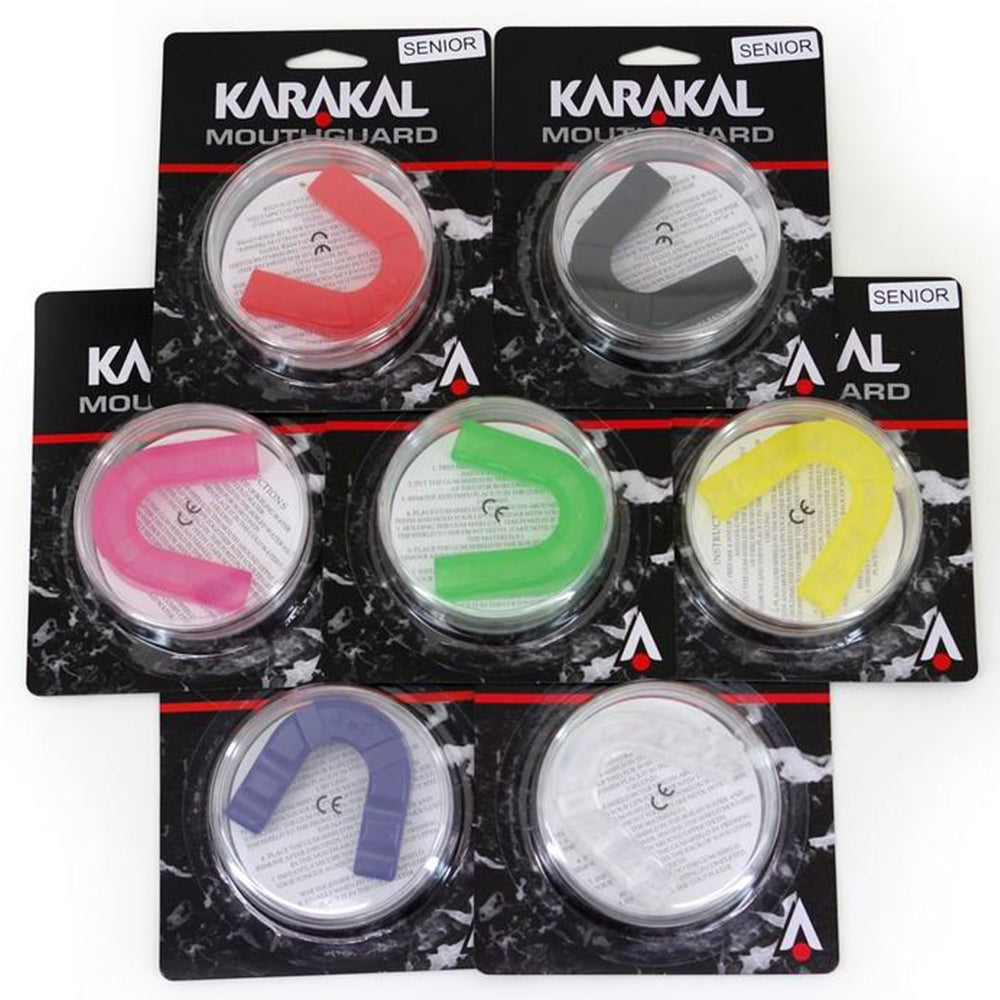 Karakal Assorted Mouthguards (Pack of 12) | Senior Image McSport Ireland