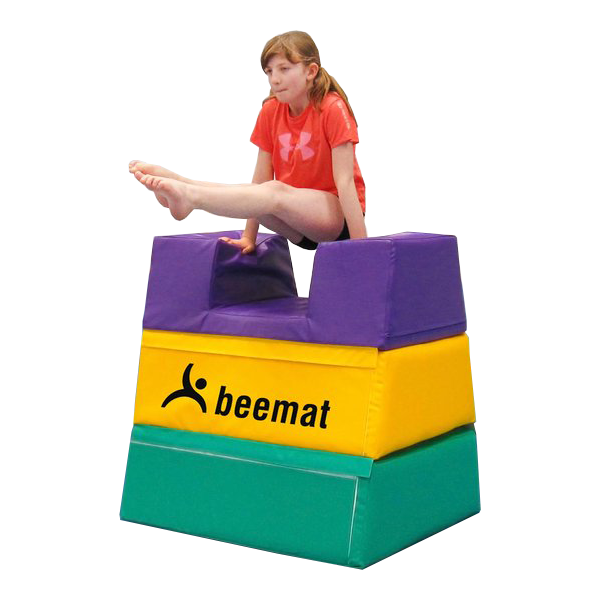 Beemat Development Foam Vaulting Box - (3 Section) Image McSport Ireland