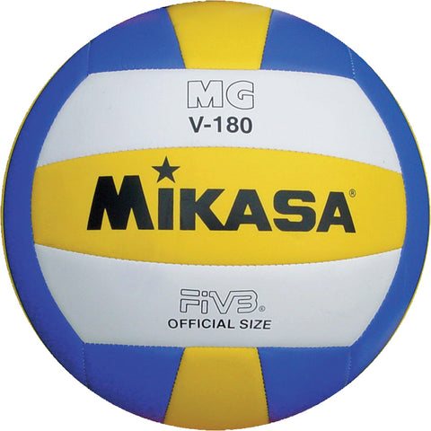 Mikasa V-180 Lightweight Volleyball Image McSport Ireland
