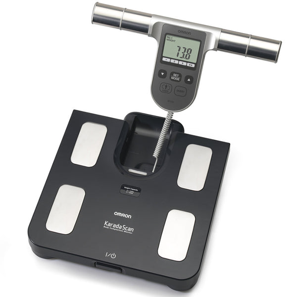 Omron BF508 Body Fat Monitor with Scale Image McSport Ireland
