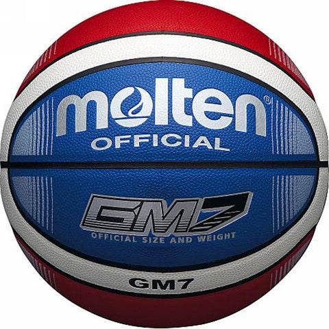 Molten Basketball | Red, White, Blue | Size 6 Image McSport Ireland