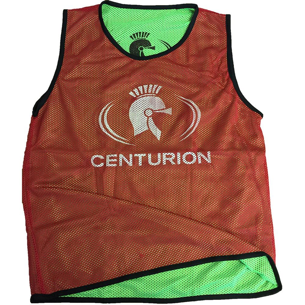Centurion Mesh Reversible Bib Red and Green Image McSport Ireland