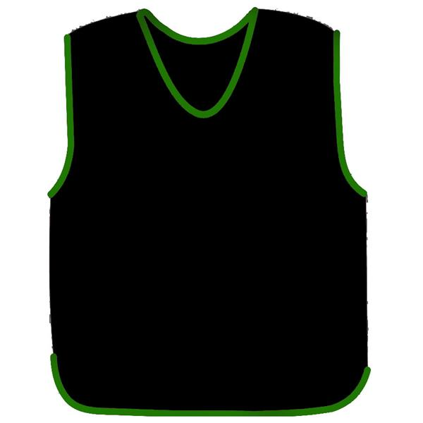 Precision Mesh Training Bib | (Black) | XXS: Inches: 26