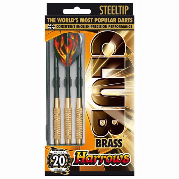 Harrows Club Brass Dart Sets Image McSport Ireland