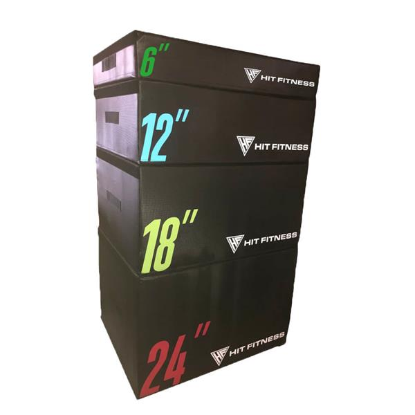 HIT FITNESS Soft Jump Boxes Image McSport Ireland