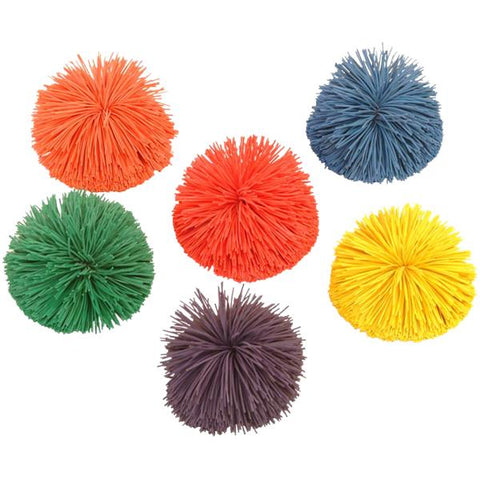Playm8  Pom Pom Balls | Pack of 6 | 7cm Image McSport Ireland