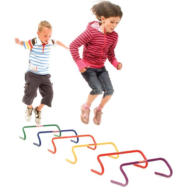 Playm8 Movement Hurdles | 10cm | Pack of 6 Image McSport Ireland